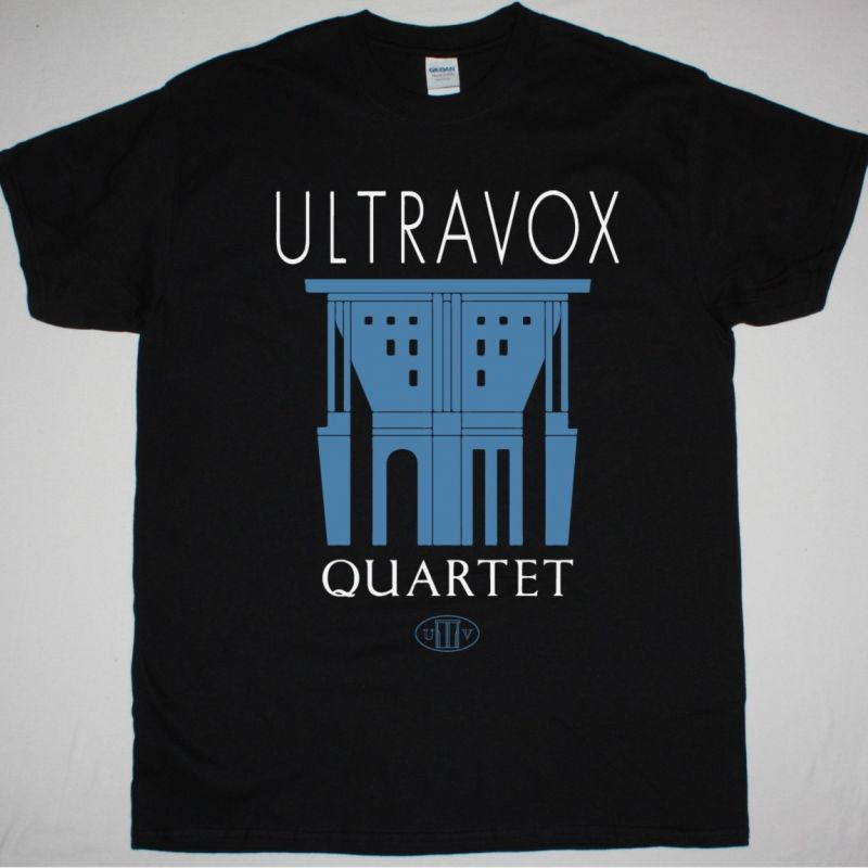 ULTRAVOX QUARTET NEW BLACK T SHIRT