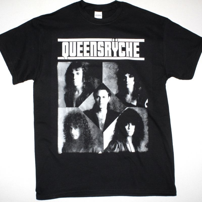 QUEENSRYCHE QUEEN OF THE REICH  NEW BLACK T-SHIRT
