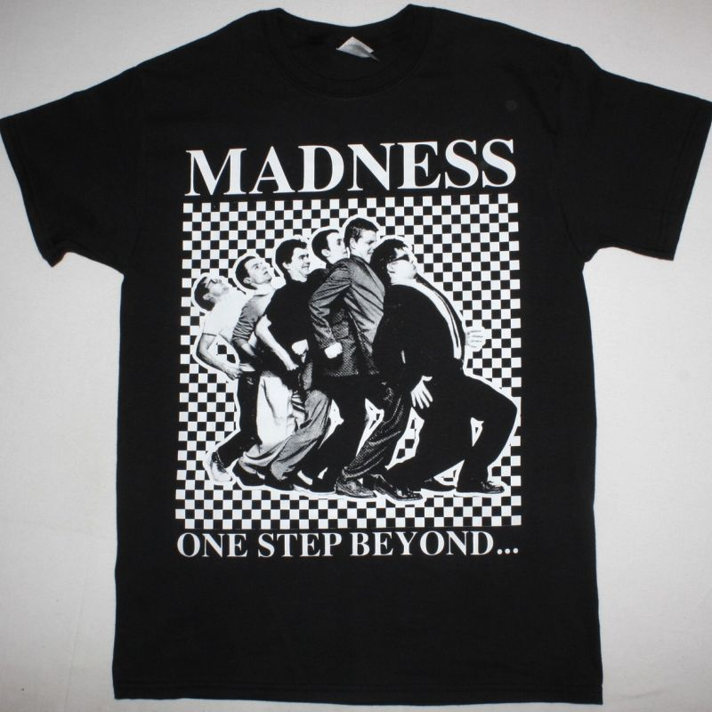 MADNESS ONE STEP BEYOND BLACK T SHIRT