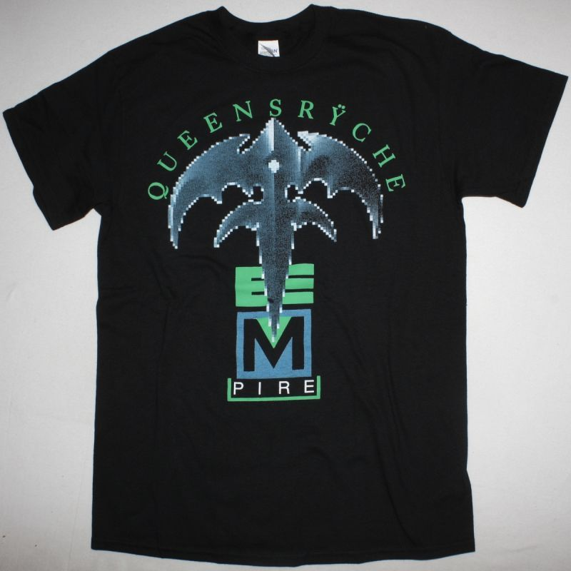 QUEENSRYCHE EMPIRE NEW BLACK T-SHIRT