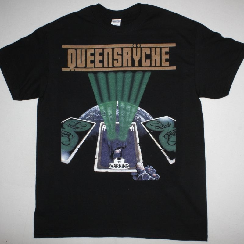 QUEENSRYCHE THE WARNING NEW BLACK T-SHIRT