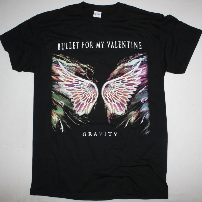 BULLET FOR MY VALENTINE GRAVITY NEW BLACK T SHIRT
