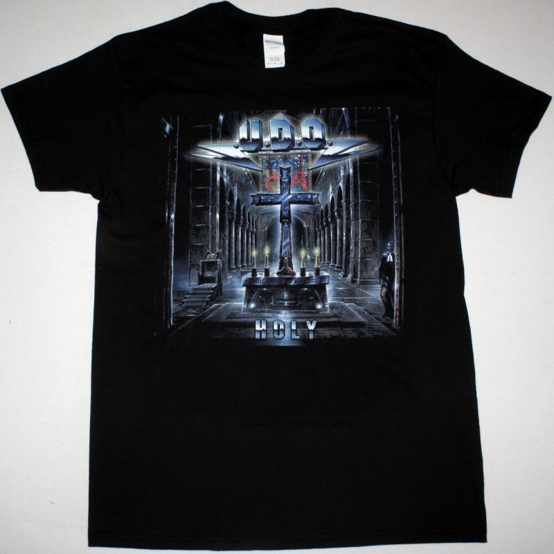 U.D.O. HOLY NEW BLACK T-SHIRT