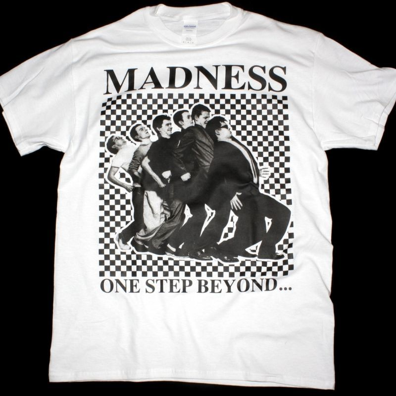 MADNESS ONE STEP BEYOND WHITE T SHIRT