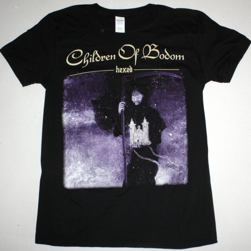 CHILDREN OF BODOM HEXED NEW BLACK T-SHIRT