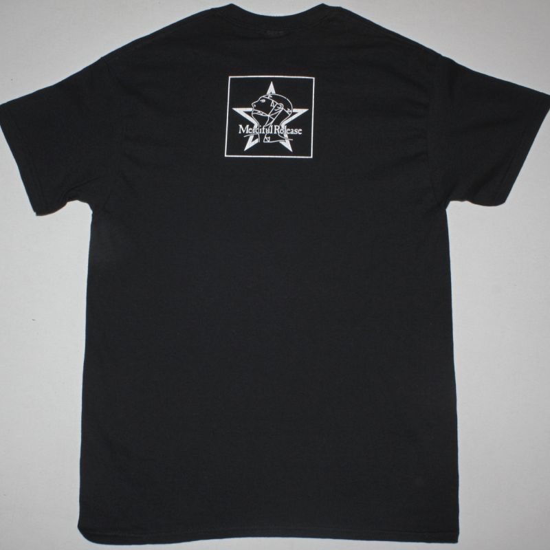 THE SISTERS OF MERCY OVERBOMBING NEW BLACK T-SHIRT