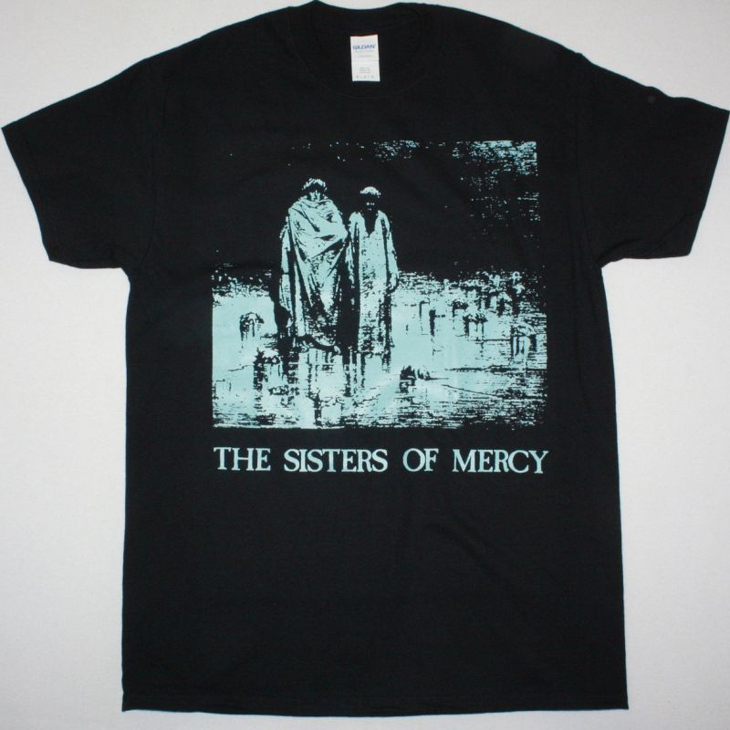 THE SISTERS OF MERCY BODY AND SOUL NEW BLACK T-SHIRT