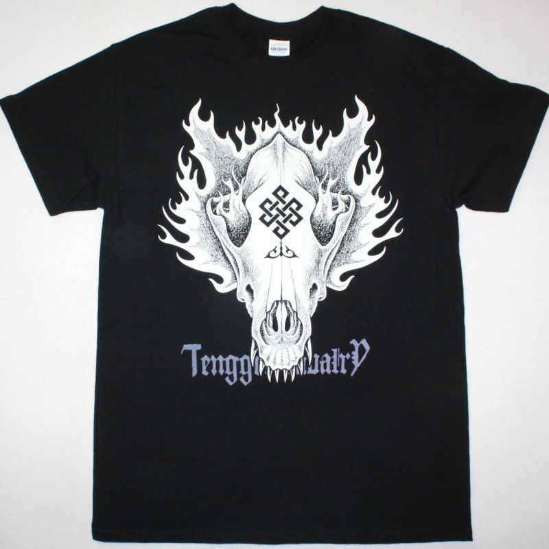 TENGGER CAVALRY BLOOD SACRIFICE SHAMAN NEW BLACK T-SHIRT