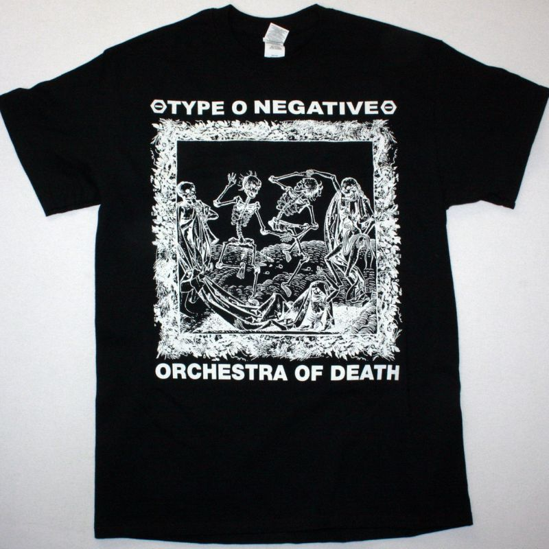 TYPE O NEGATIVE ORCHESTRA OF DEATH NEW BLACK T-SHIRT