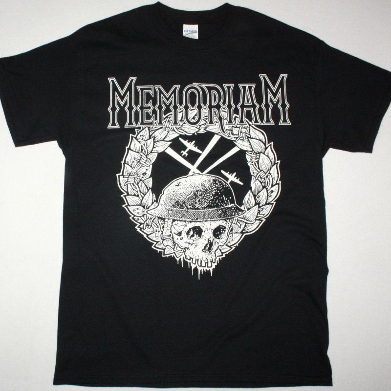 MEMORIAM THE HELLFIRE DEMOS NEW BLACK T-SHIRT