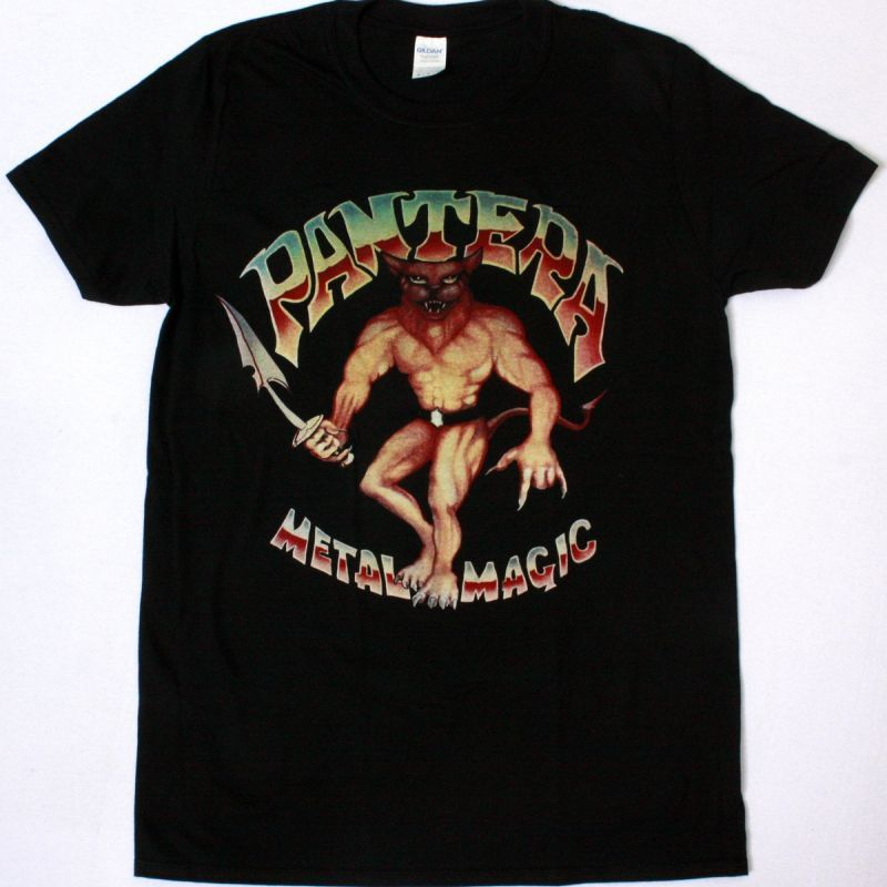 PANTERA METAL MAGIC NEW BLACK T-SHIRT