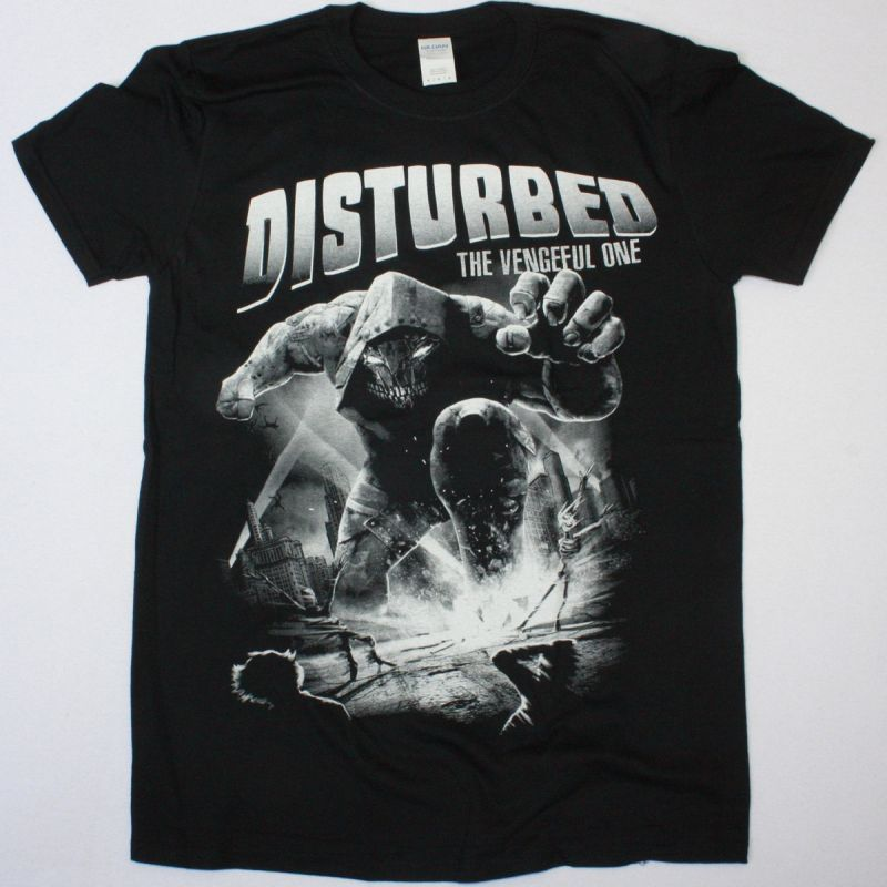 DISTURBED THE VENGEFUL ONE NEW BLACK T-SHIRT