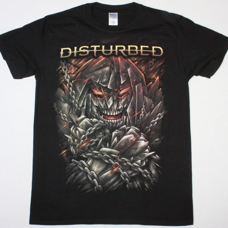 DISTURBED FIRE IT UP NEW BLACK T-SHIRT