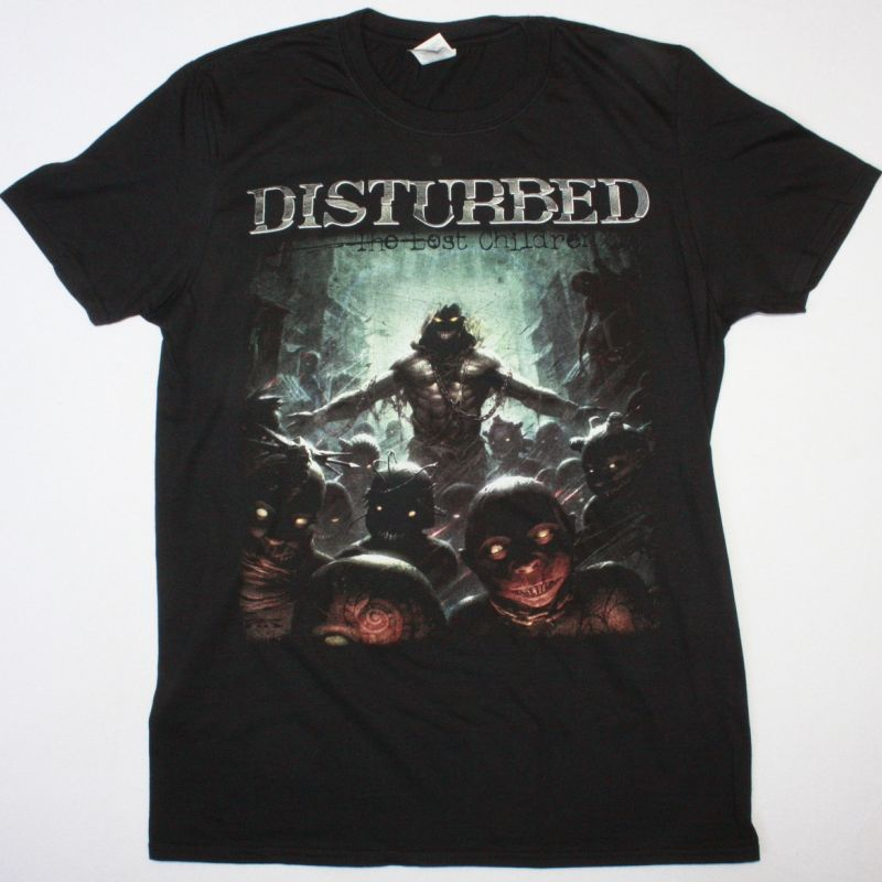 DISTURBED THE LOST CHILDREN NEW BLACK T-SHIRT