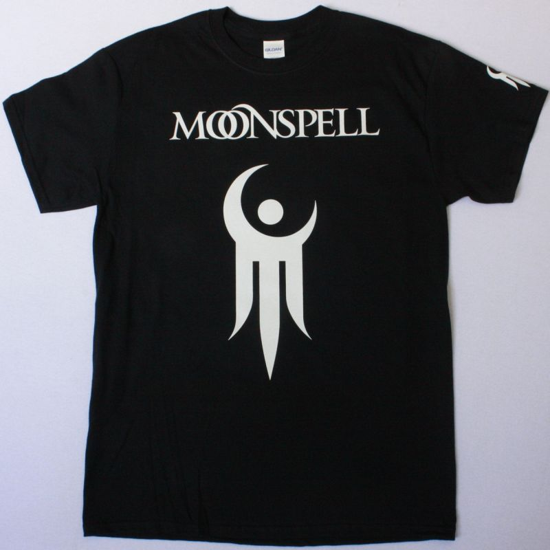 MOONSPELL TRIDENT NEW BLACK T-SHIRT