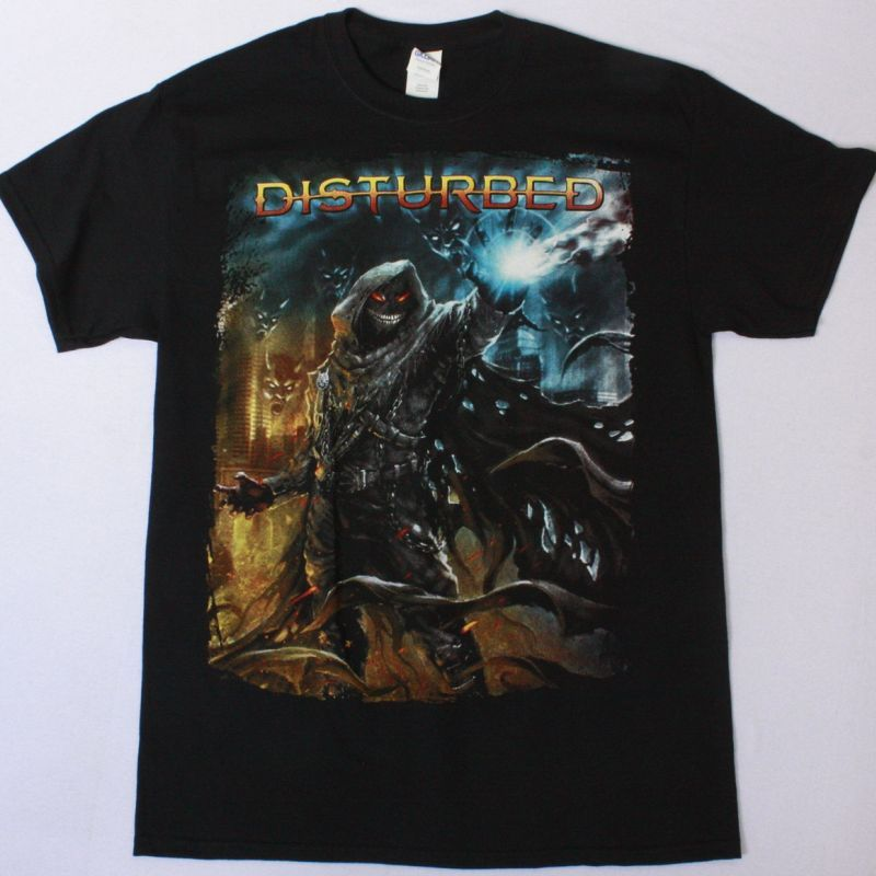 DISTURBED DARK MESSIAH NEW BLACK T-SHIRT