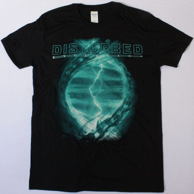 DISTURBED EVOLUTION NEW BLACK T-SHIRT