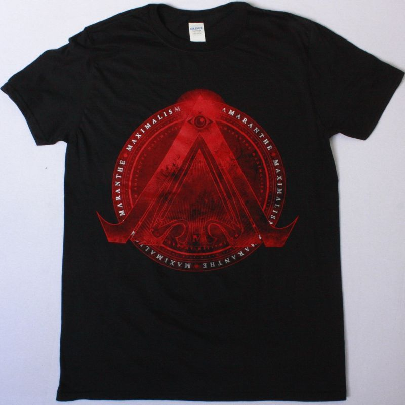 AMARANTHE MAXIMALISM NEW BLACK T-SHIRT