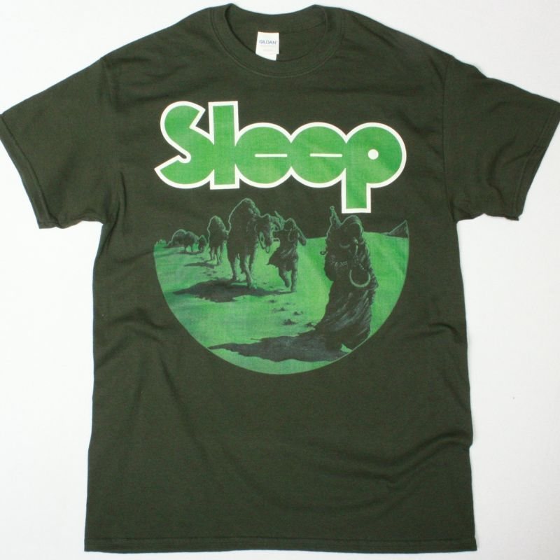 SLEEP DOPESMOKER SHIRT NEW FOREST GREEN T-SHIRT