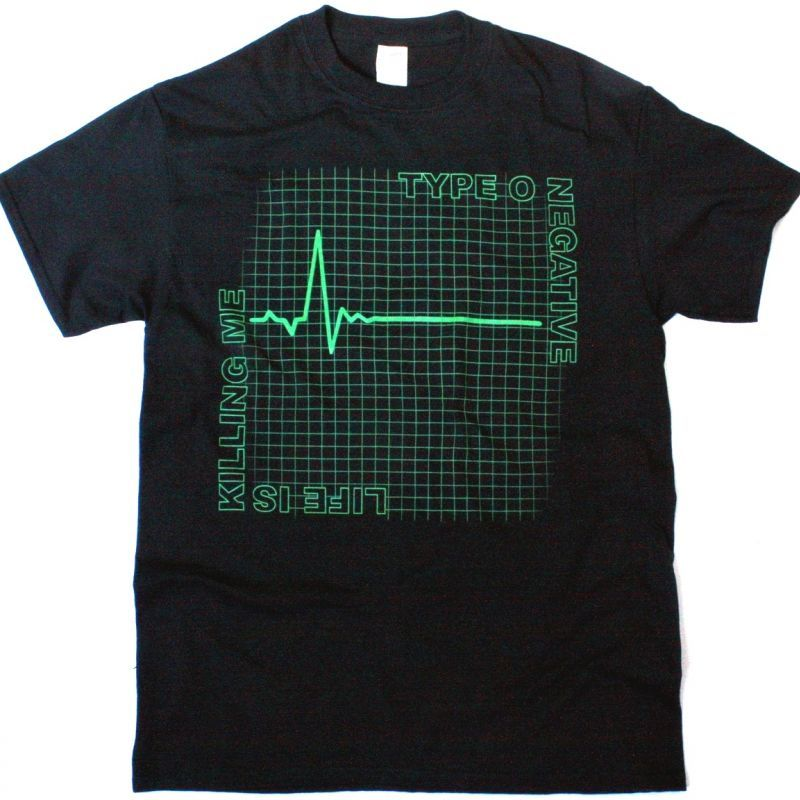 TYPE O NEGATIVE LIFE IS KILLING ME NEW BLACK T-SHIRT