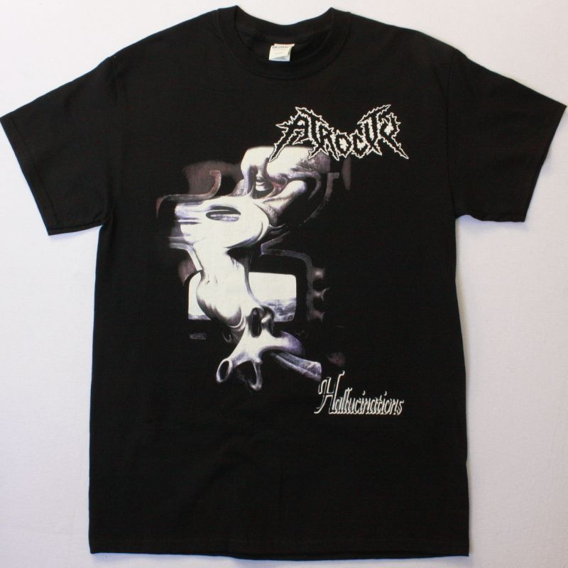 ATROCITY HALLUCINATIONS NEW BLACK T-SHIRT