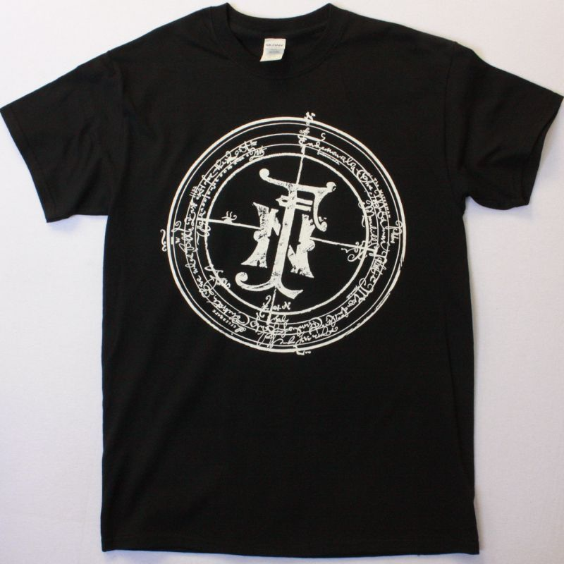 FIELDS OF THE NEPHILIM CLASSIC LOGO NEW BLACK T SHIRT