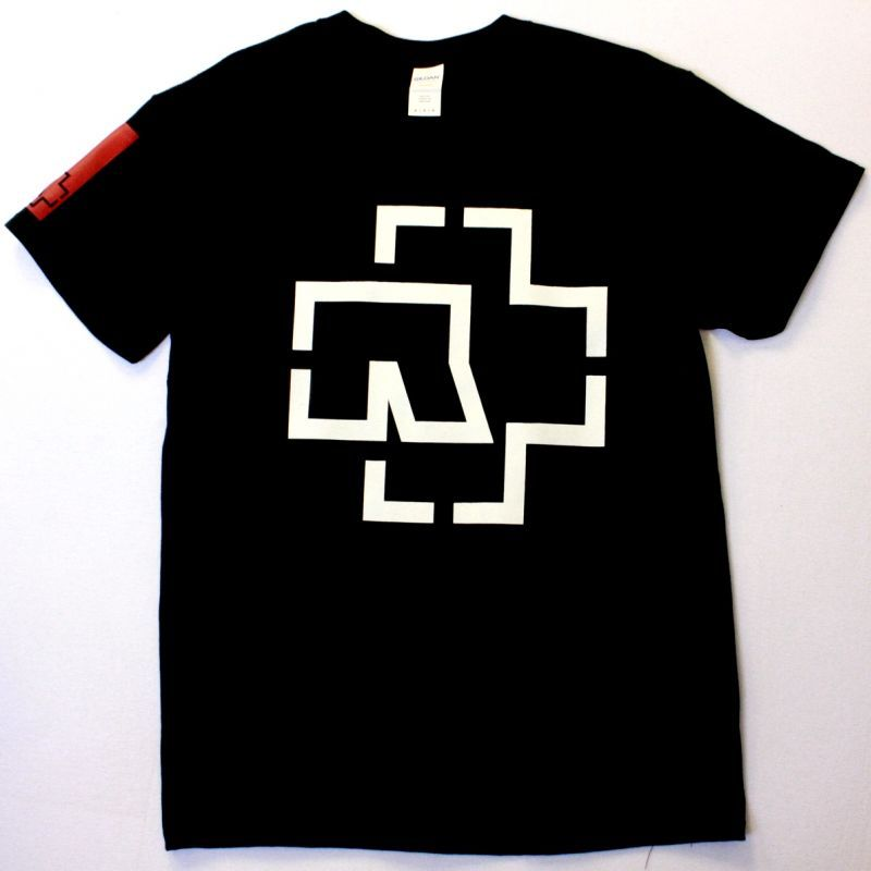 RAMMSTEIN LOGO NEW BLACK T-SHIRT