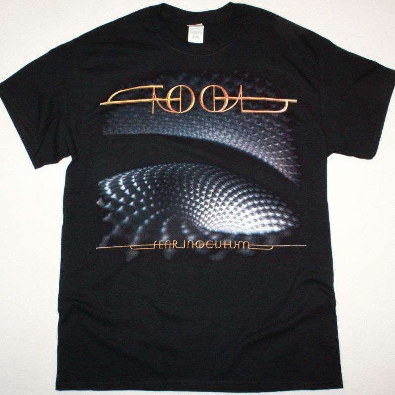 TOOL FEAR INOCULUM NEW BLACK T SHIRT