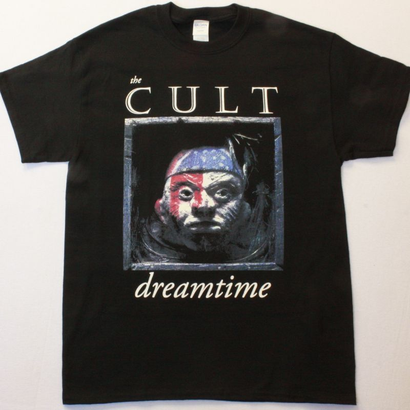 THE CULT DREAMTIME NEW BLACK T-SHIRT