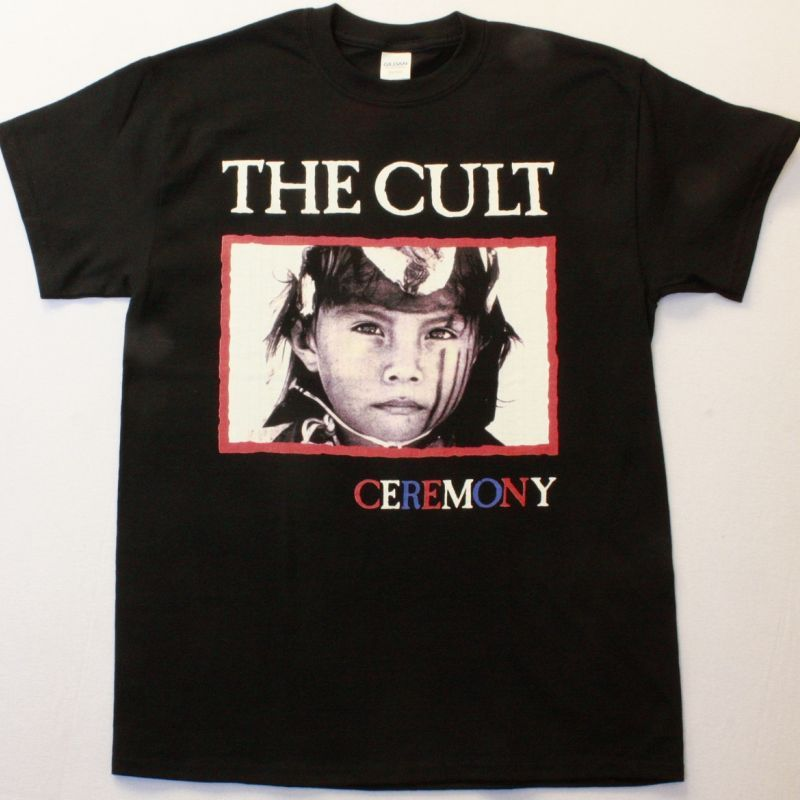 THE CULT CEREMONY NEW BLACK T-SHIRT