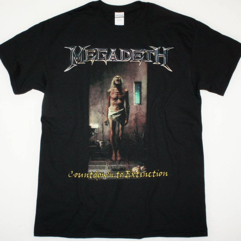 MEGADETH COUNTDOWN TO EXTINCTION NEW BLACK T-SHIRT