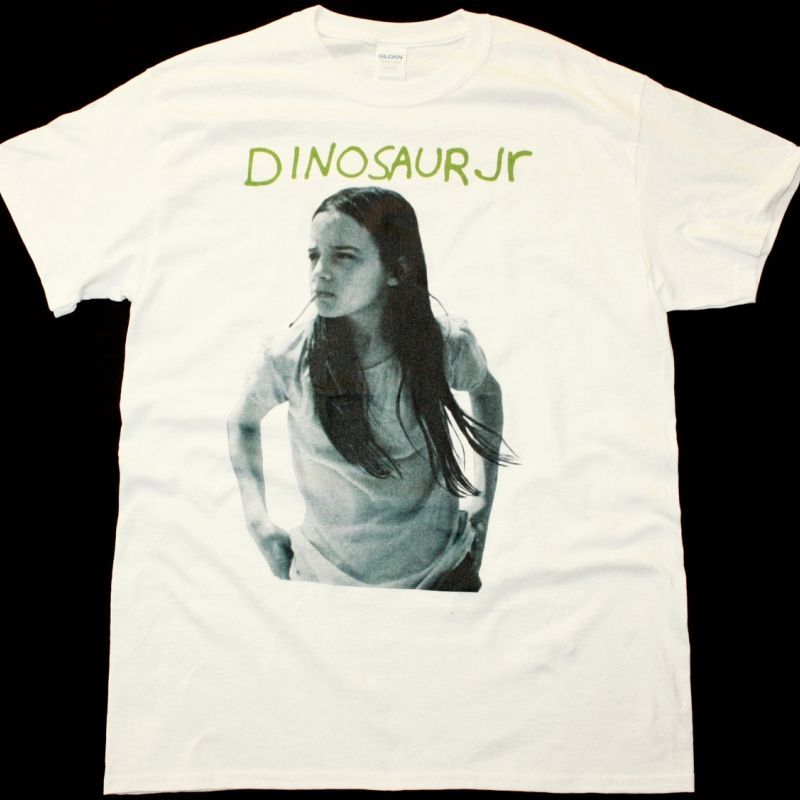 DINOSAUR JR. GREEN MIND NEW WHITE T SHIRT