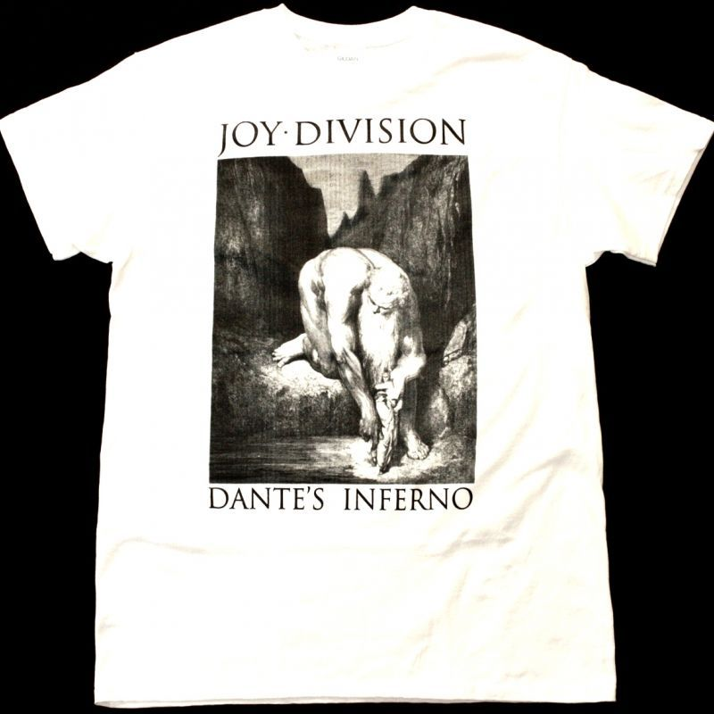 JOY DIVISION DANTE'S INFERNO NEW WHITE T-SHIRT