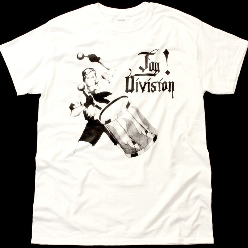 JOY DIVISION AN IDEAL FOR LIVING NEW WHITE T-SHIRT
