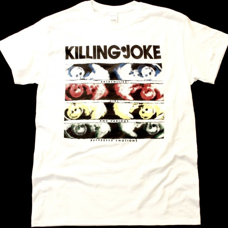 KILLING JOKE EXTREMITIES NEW WHITE T-SHIRT
