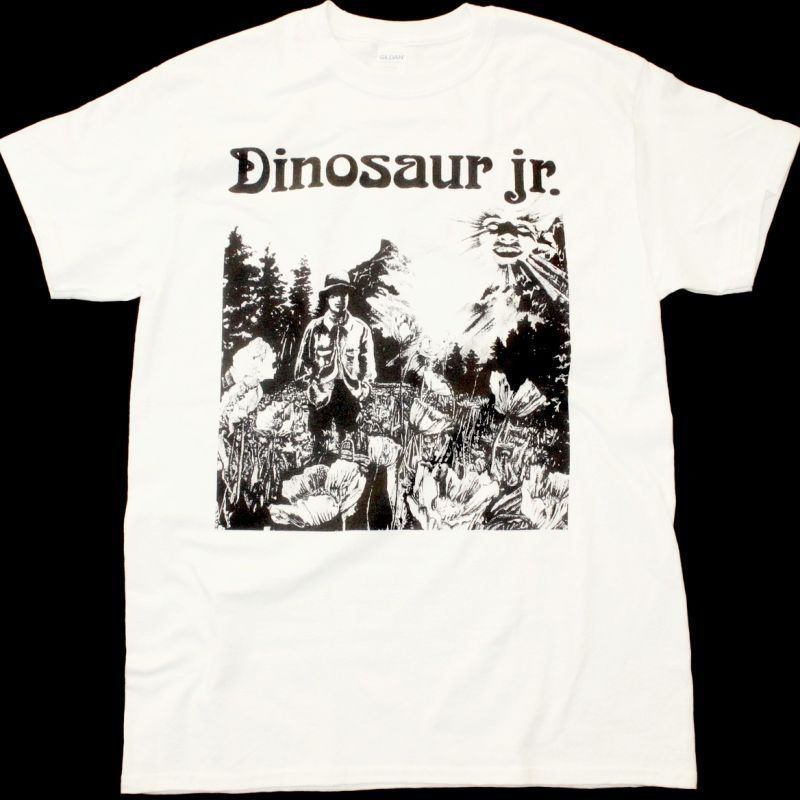 DINOSAUR JR. DINOSAUR NEW WHITE T SHIRT