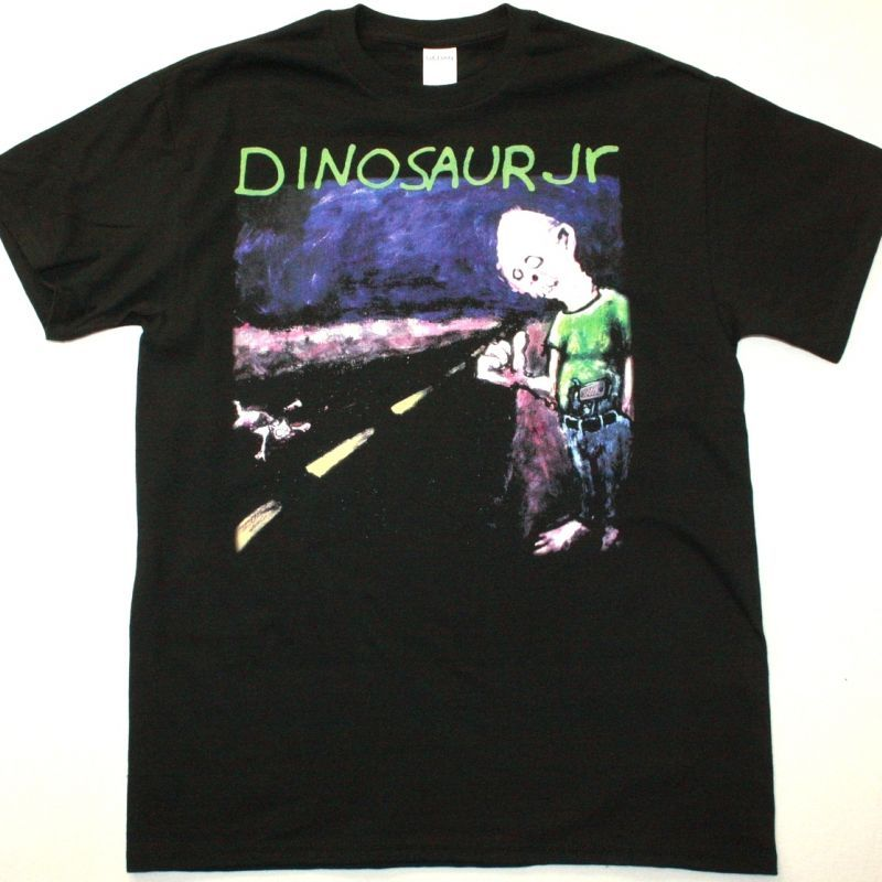 DINOSAUR JR. WHERE YOU BEEN NEW BLACK T SHIRT
