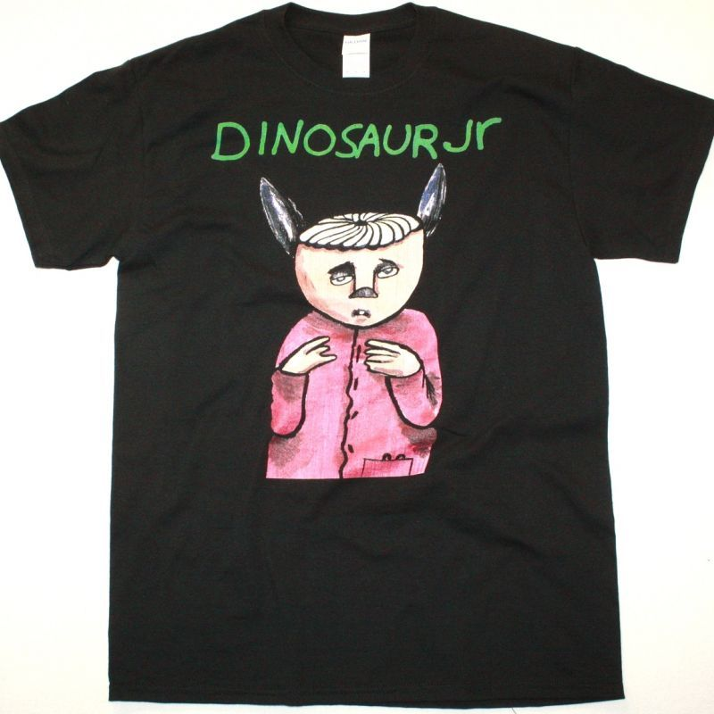 DINOSAUR JR. WITHOUT A SOUND NEW BLACK T SHIRT