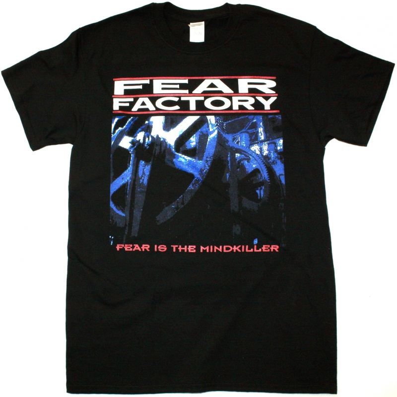 FEAR FACTORY FEAR IS THE MIND KILLER NEW BLACK T-SHIRT