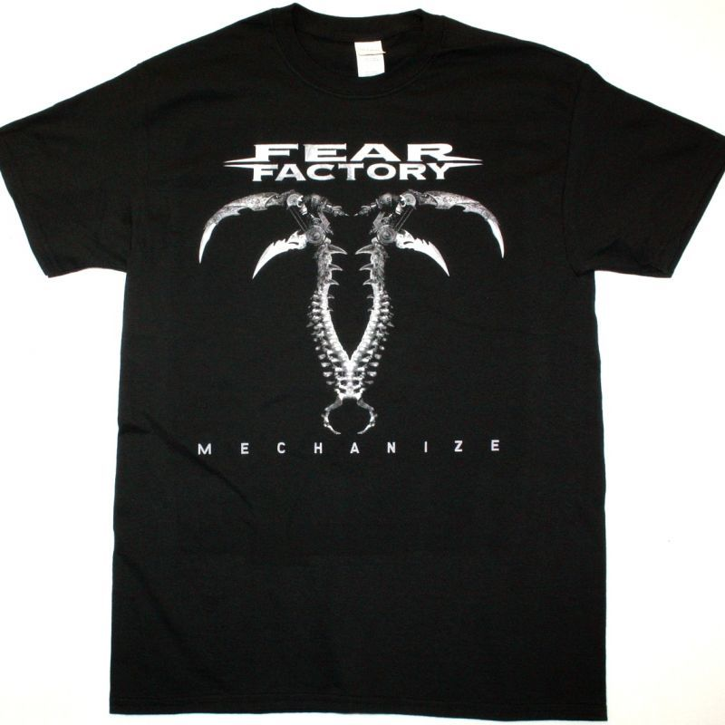 FEAR FACTORY MECHANIZE NEW BLACK T-SHIRT