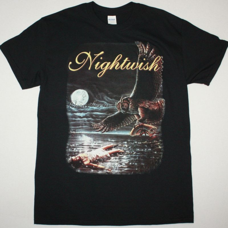 NIGHTWISH OCEANBORN NEW BLACK T-SHIRT