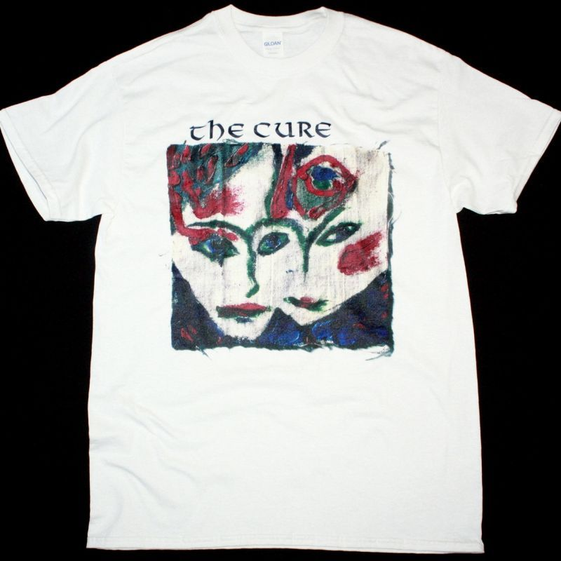 THE CURE LOVESONG NEW WHITE T-SHIRT