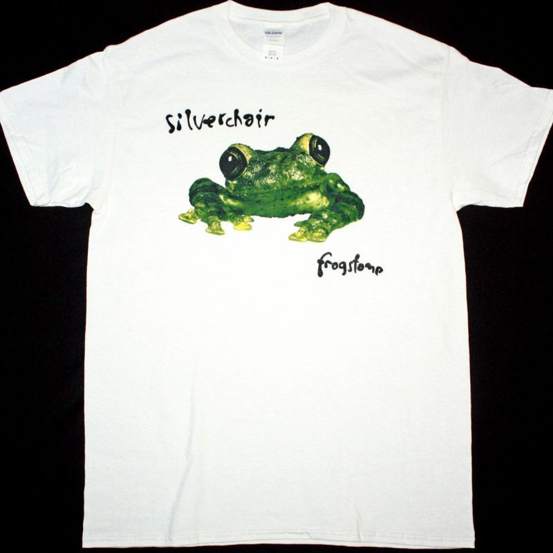 SILVERCHAIR FROGSTOMP NEW WHITE T-SHIRT
