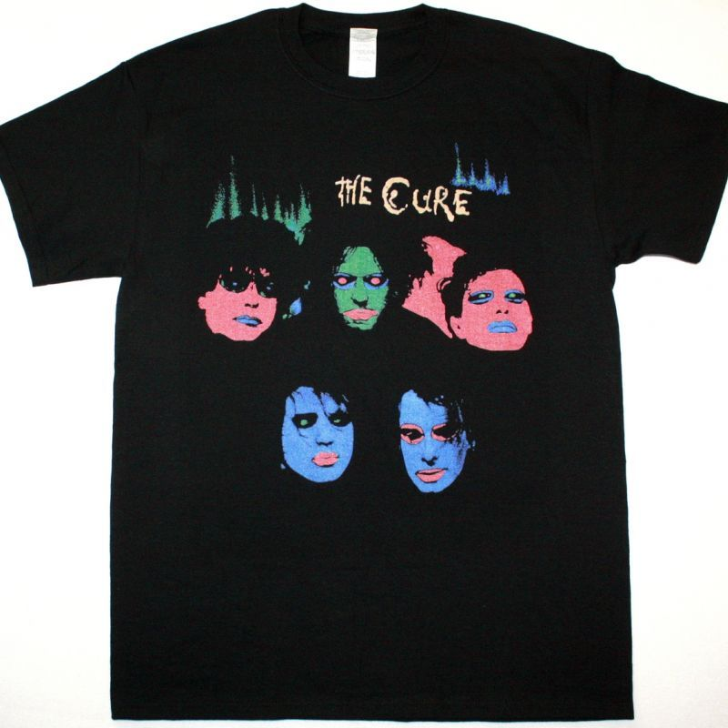 THE CURE IN BETWEEN DAYS NEW BLACK T-SHIRT