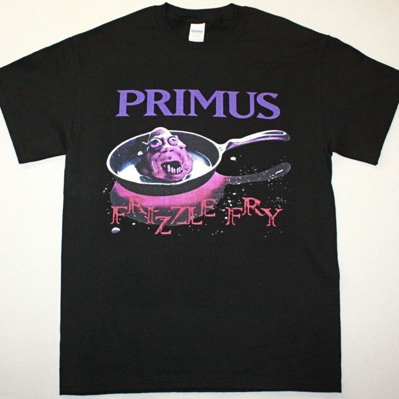 PRIMUS FRIZZLE FRY NEW BLACK T-SHIRT