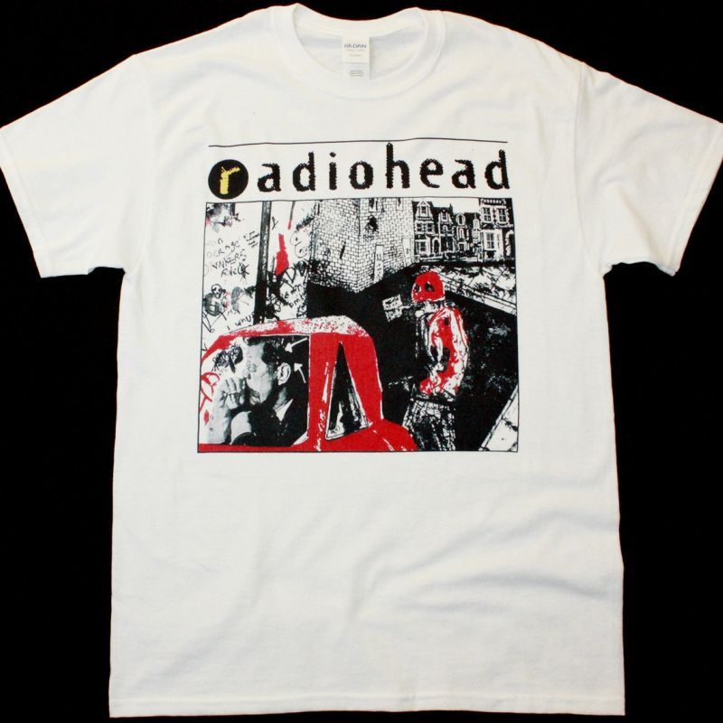 RADIOHEAD CREEP NEW WHITE T-SHIRT