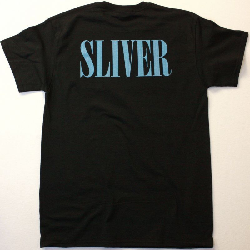 NIRVANA SLIVER NEW BLACK T-SHIRT