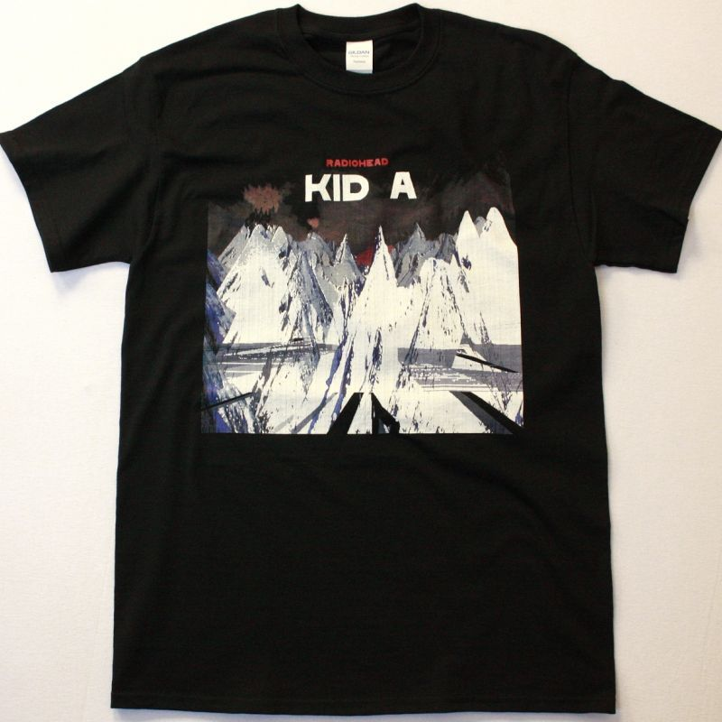 RADIOHEAD KID A NEW BLACK T-SHIRT