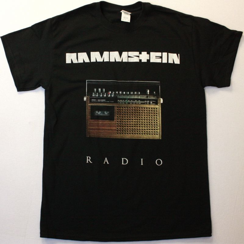RAMMSTEIN RADIO NEW BLACK T-SHIRT