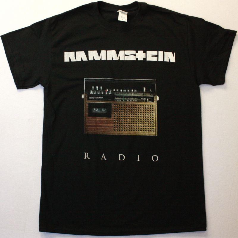 RAMMSTEIN RADIO NEW BLACK T-SHIRT